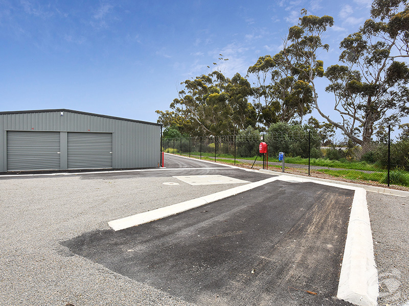 Willunga Storage Washdown Area